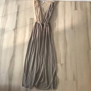 Sheer maxi dress, New without tags size M